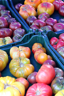 heirloom tomatoes | by David Lebovitz