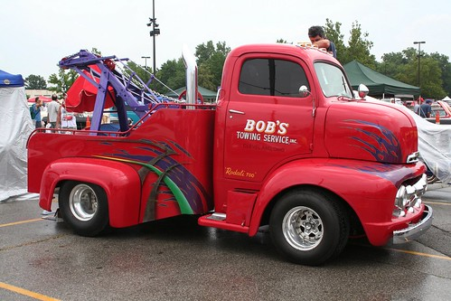1951 Ford COE Tow Truck | by osubuckialum