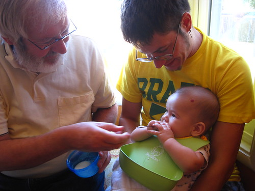 Feeding Baby Solid Foods At  Months