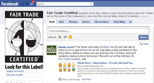 Fair Trade Certified page on Facebook | by Si1very