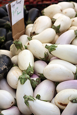 white eggplant | by David Lebovitz
