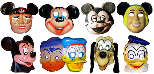 Disney Type Creepy Mouseketeer Masks 0131 | by Brechtbug
