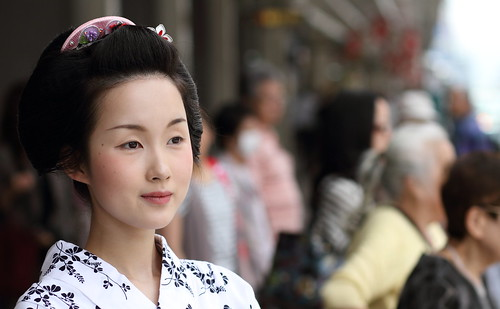 Girl Girl 舞妓 杏佳さん Kyoto Japan The Maiko Apprentice