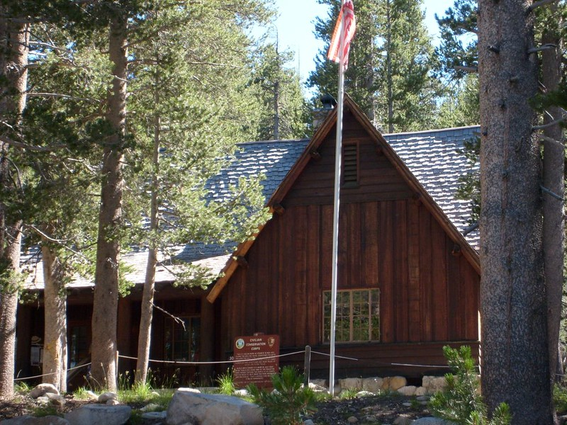 The former Civilian Conservation Corps building in Tuolumne Meadows (CCC)