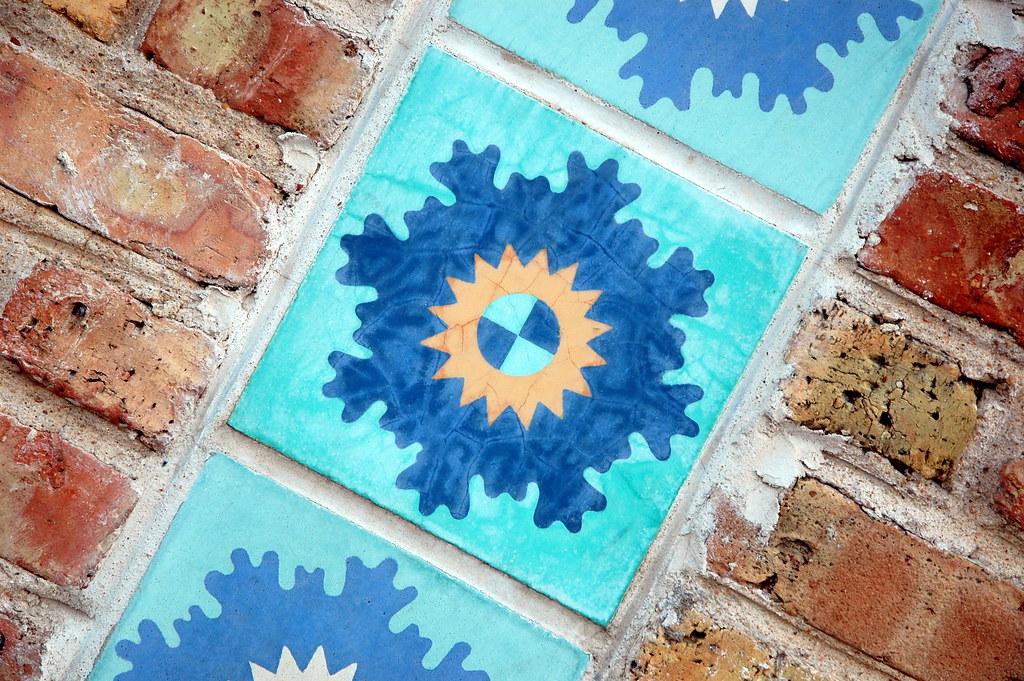 Sunburst-Snowflake Tile