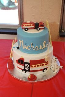 Fire Truck Cake | by TheHappyCake