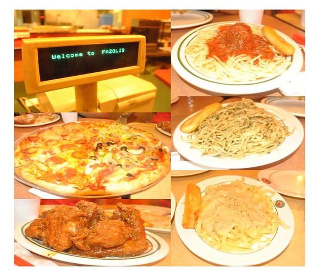 Birthday Dinner at Fazoli's Eastwood