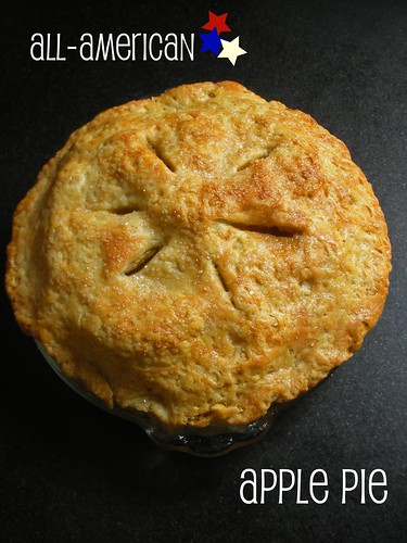 all-American, all deilcious apple pie | by awhiskandaspoon