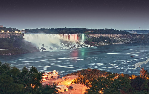 Twilight at Niagara Falls | by Kjers..