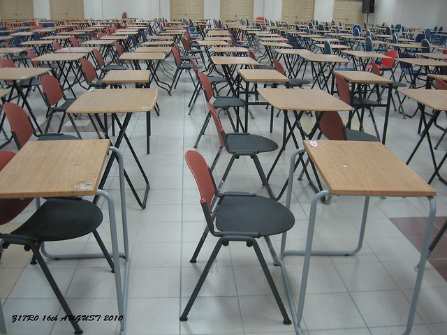 F2, examination hall uthm