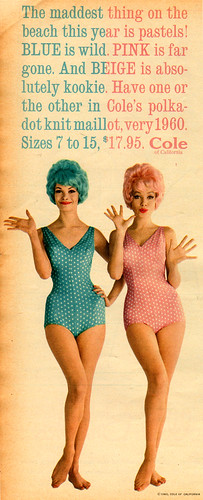 coles_polka-dot_knit_maillot_1960 | by it's better than bad