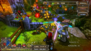Dungeon Defenders - Gameplay | by PlayStation.Blog