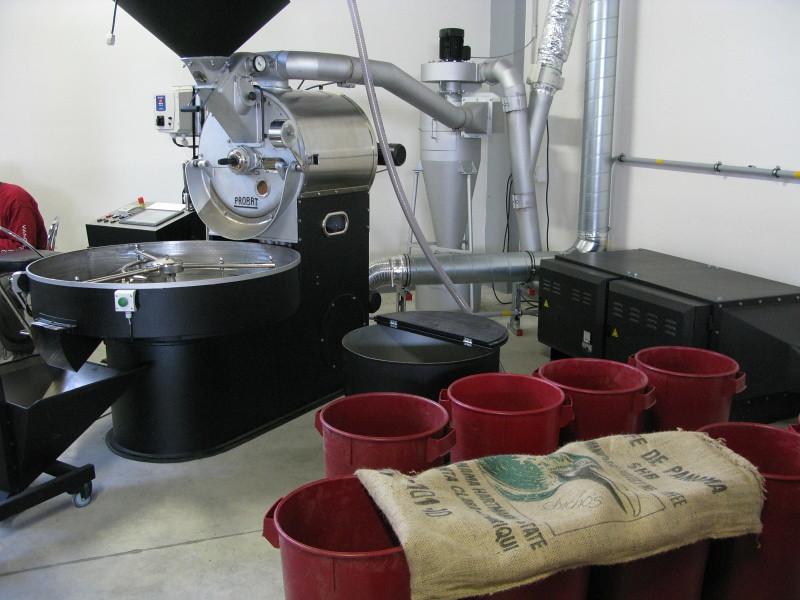 pražírna kávy doubleshot