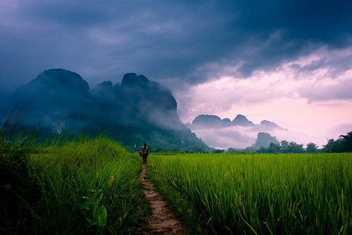 """Path to Wonder"" Loas~Travel~Asia~Photography~Mountains~Travel 