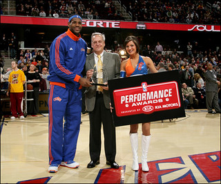 Lebron Wins Performance Award | by Cavs History