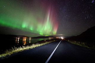 Northern Light Road | by Kiddi Kristjans