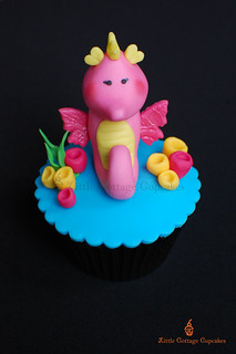 My Little Beauty Seahorse! | by Little Cottage Cupcakes