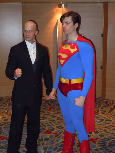 Superman and Lex | by michant2