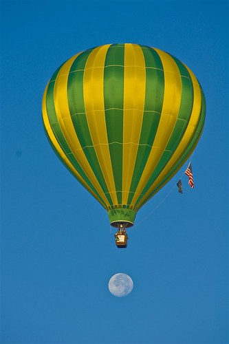 Moon Balloon Landing | by littlebiddle