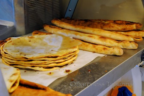 Lahmacun and Pide stuffed with meat and vegetables | by BaronessTapuzina