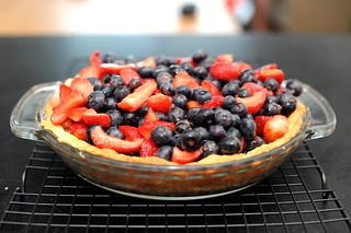 blueberry strawberry pie | by sassyradish