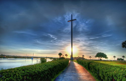 Walk to the Cross Sunrise Small | by wowphotoshdr