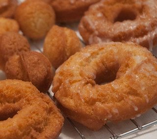 old-fashioned doughnuts | by kitchenmage