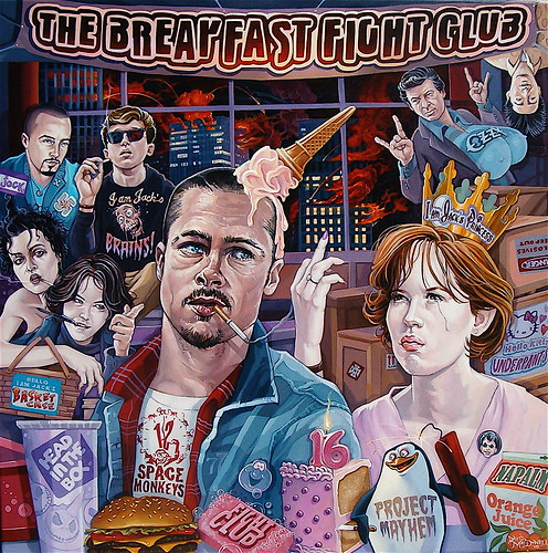 """The Breakfast Fight Club"" 