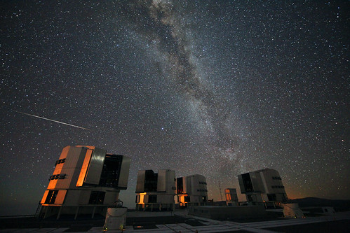 The 2010 Perseids over the VLT | by European Southern Observatory
