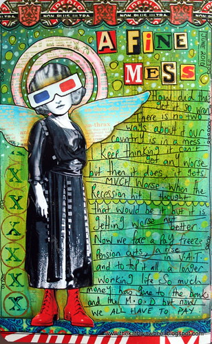 Art Journal - A fine mess | by thekathrynwheel