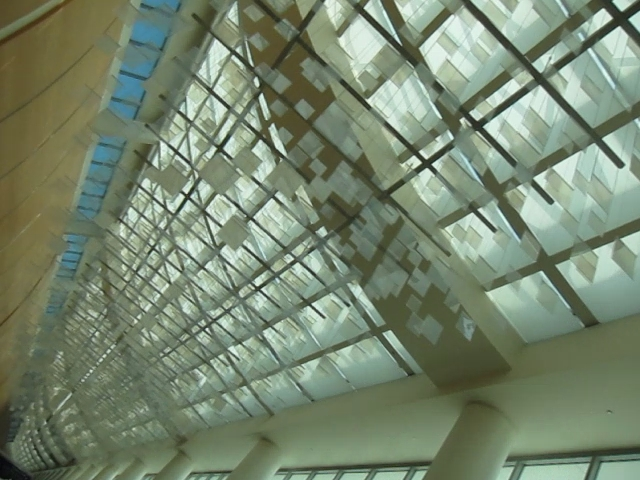 San Jose Airport LCD Art Flickr'n Away