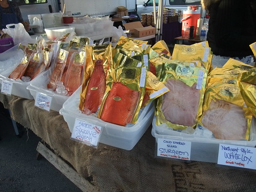 SFO Day 2: Smoked Fish from the Ferry Plaza Farmers Market | by swampkitty