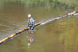 KALAMAZOO RIVER OIL SPILL | by mic stolz