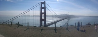 Golden gate bridge panorama #n8 | by markguim