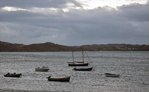 View from the hotel, Iona, Scotland, Sept. 2010 | by PhillipC