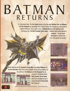 1992 ad for Batman Returns on the Atari Lynx | by Paxton Holley