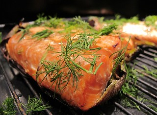 Grilled Wild Coho Salmon | by marks and remarks...