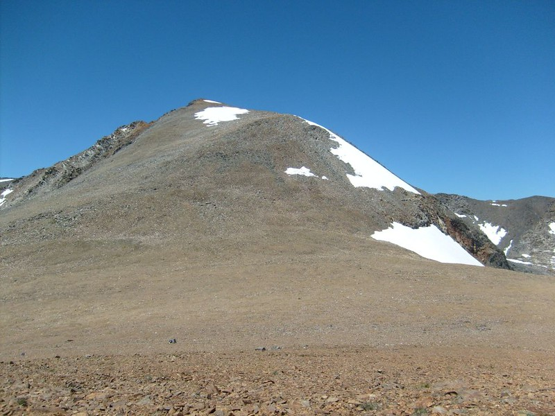 Looking back up at Koip Peak from Koip Pass