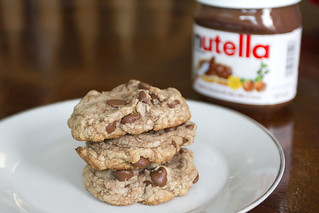 Nutella Chocolate Chip Cookies | by thenerdswife
