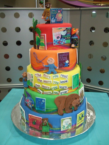 Favorite Childrens Books Cake | by T-Wood's