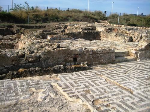 Los Baños Romano La Hedionda:Vicus romano de los Baños de la Reina