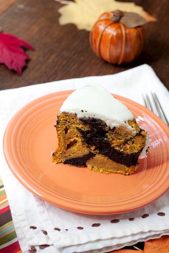 Pumpkin Chocolate Cake Vegan
