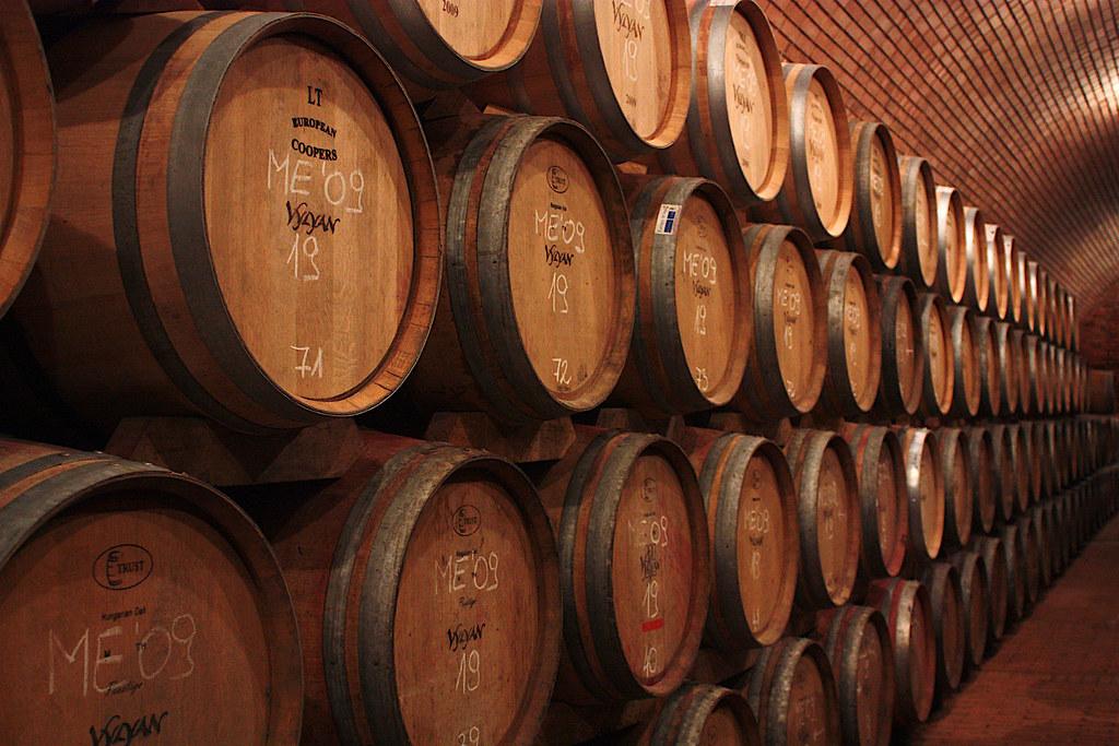 Barrels o' wine
