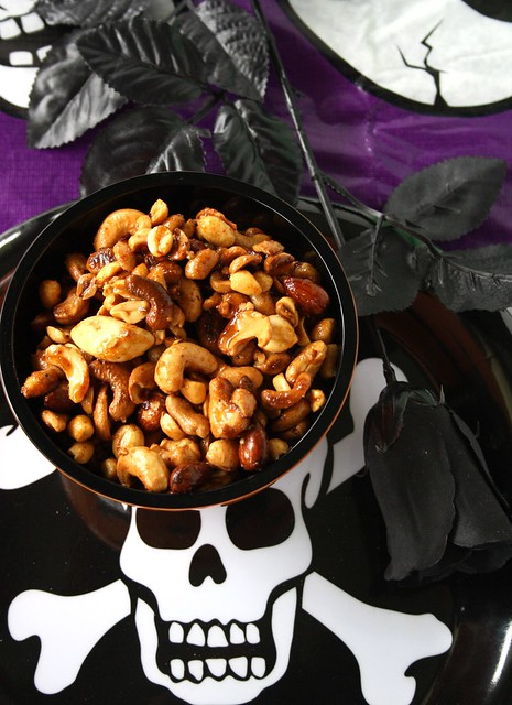 Halloween Spicy Nuts From Hell!