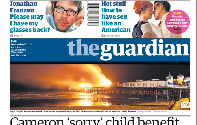 My Photo on Guardian Cover