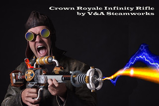 Crown Royale Infinity Rifle by V&A Steamworks | by V&A Steamworks - Guy HImber
