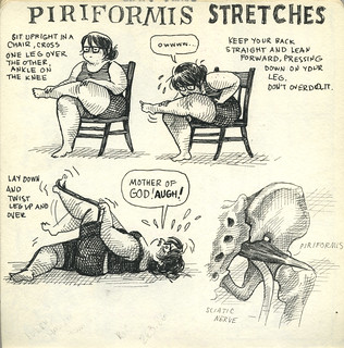 Let's Do Piriformis Stretches! | by featherbed