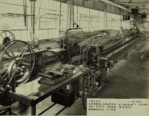 Plant Interior Consolidated Convair Aircraft Factory San
