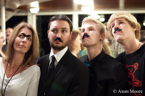 Yes, indeed, our moustaches are affixed. | by WilWheaton