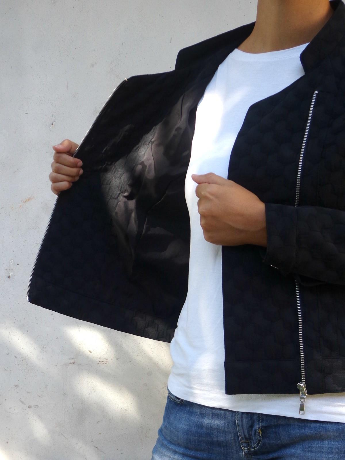 Fodera giacca asimmetrica Burda